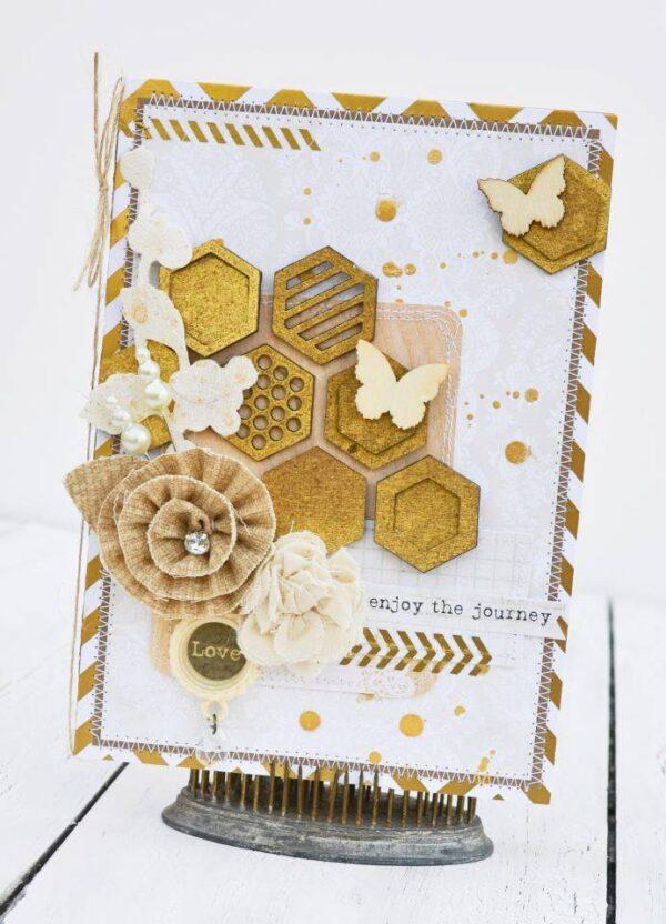 Layered Hexagons-533
