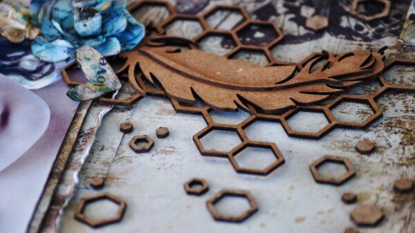 Hexagon Background-700
