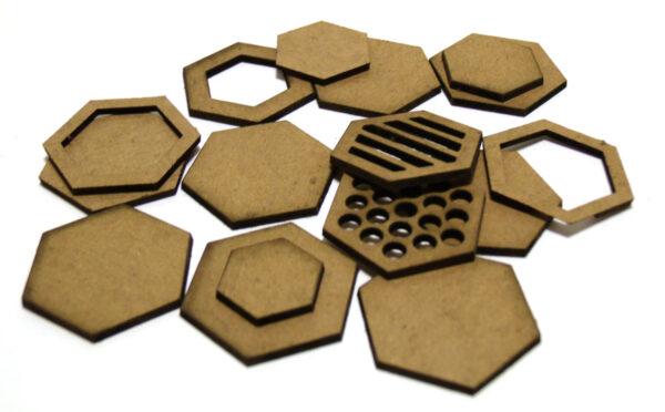 Layered Hexagons-9