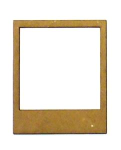 Miniature Blank Polaroid-0