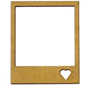 Miniature Heart Polaroid-0