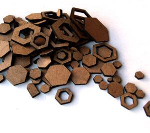Hexagon Confetti-0