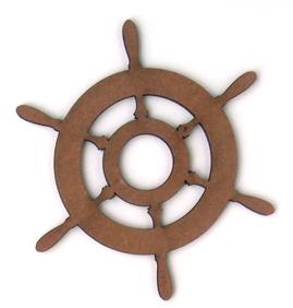 Ship Wheel - Large-0