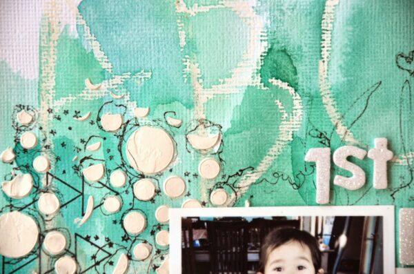 Circle Confetti Stencil-682