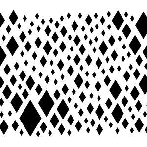 Diamond Confetti Stencil-0