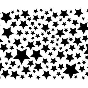 Star Confetti Stencil-0