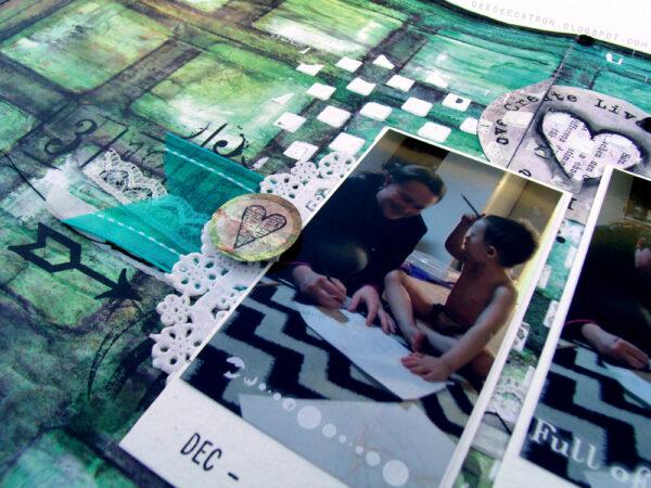 Checker Board Stencil-716