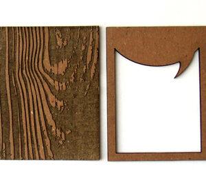 Wood Speech Bubble Pocket Chip-0