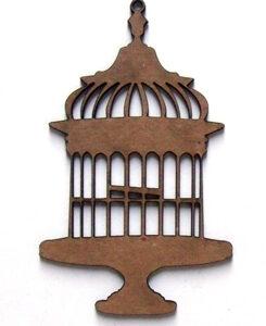 Vintage Wire Birdcage-0