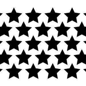 Chunky Star Stencil-0