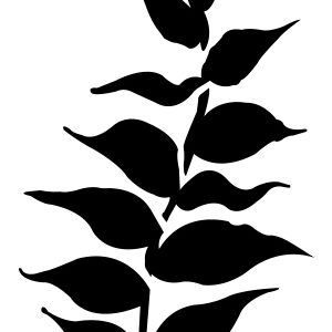 Leafy Stencil-0