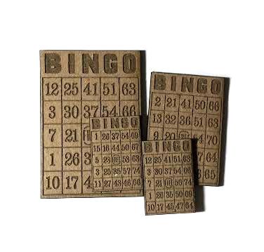 Miniature Bingo Card MASH-1304