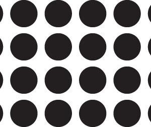 Chunky Circle Stencil-0