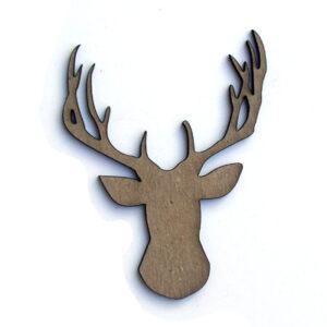 Elk Head Silhouette-0