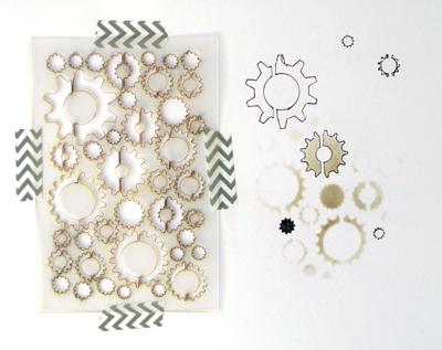 Gear Confetti Stencil-1252