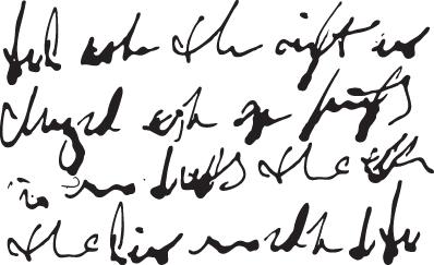 Handwriting Stencil-0
