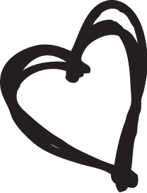 Sketchy Heart Mask-0