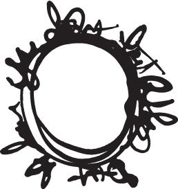 Scribble Circle Mask-0