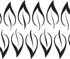 Loose Leaf Stencil-0