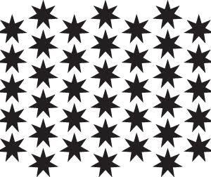 Starburst Stencil-0