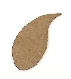 Doodle Leaf Chip n Stamp-2395