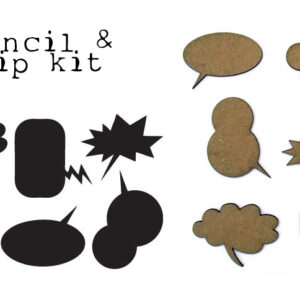 Speech Bubble KIT {chip & stencil}-0