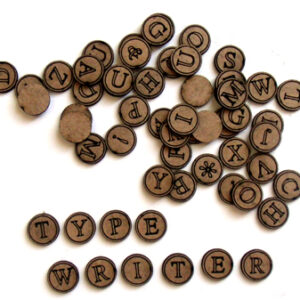Typewriter Key ALPHA-0