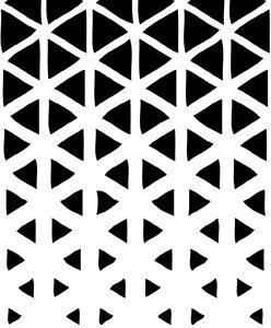 Triangle Fade Stencil-0