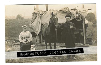 Dog Lady & Horse Gent-0