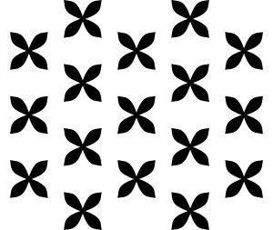 Posies Stencil-0