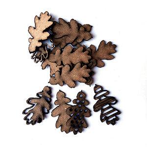 Layered Oak Leaves-0