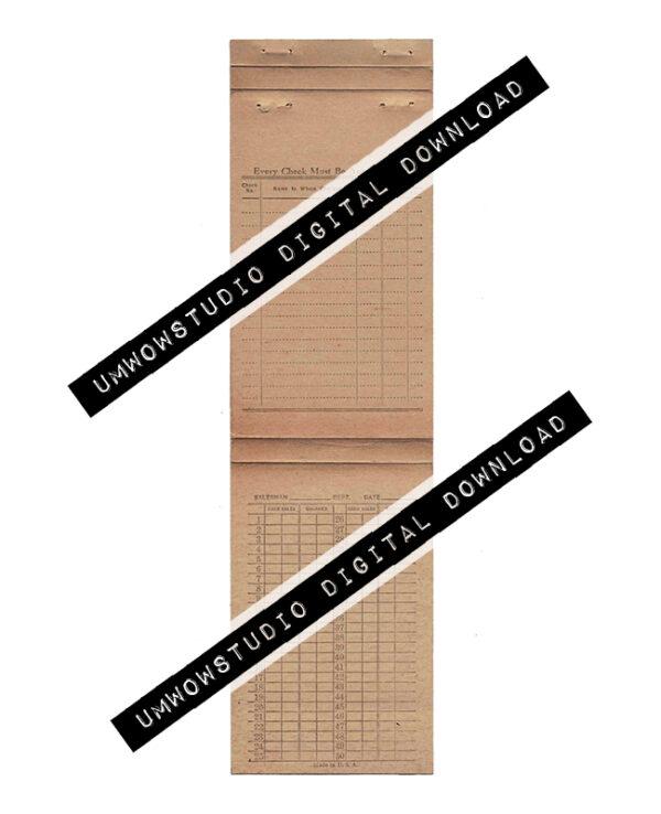 Folding Pamphlet : Every Check-0