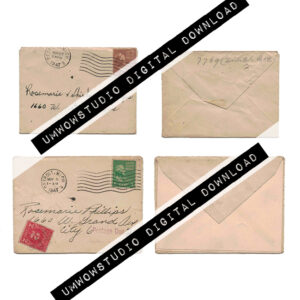 Mini Envelopes (x2 Front & back)-0