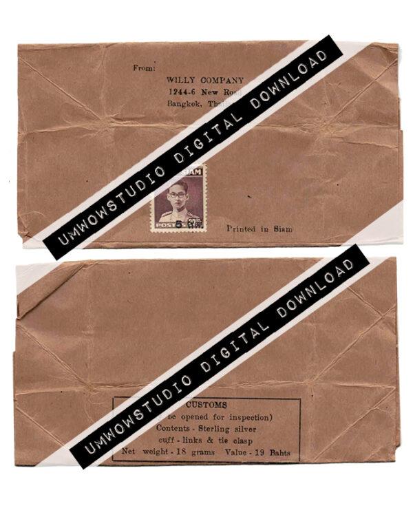 Brown Paper Thailand Envelope (Front & Back)-0