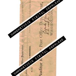 Post Office Auditor Envelope-0
