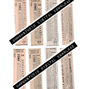 Tall Skinny Neutral Tickets (4 Front & Back)-0