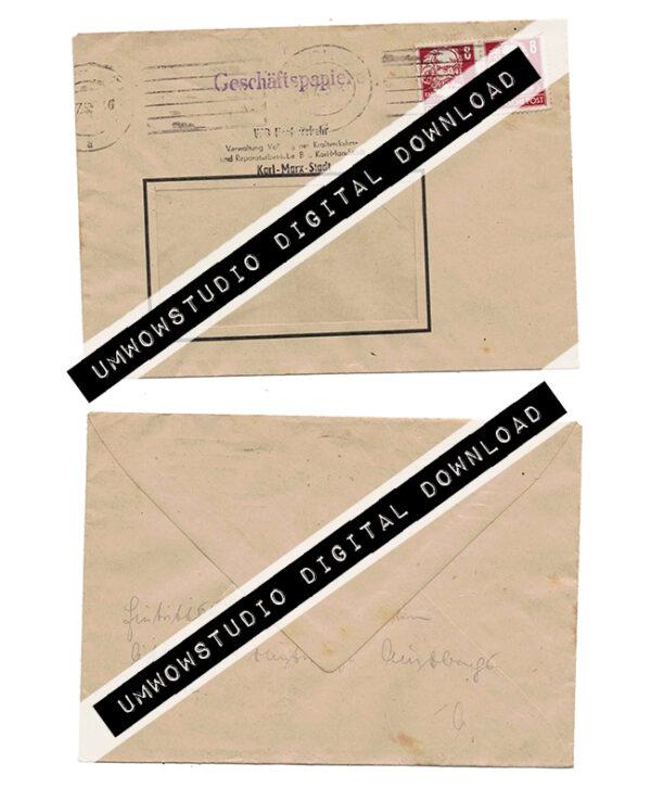 Deutsche Post Window Envelope-0