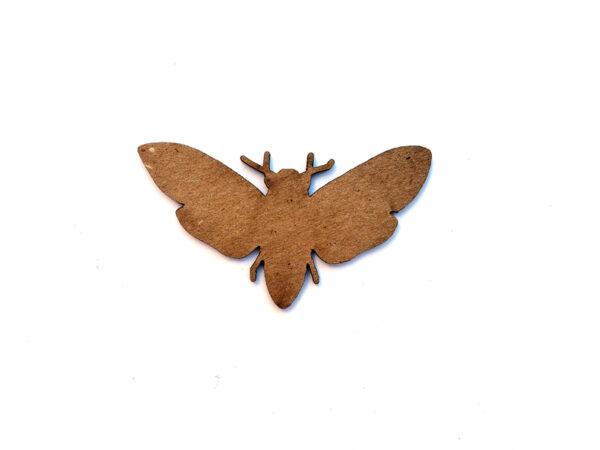 Death Head Moth Chip n Stamp-11051