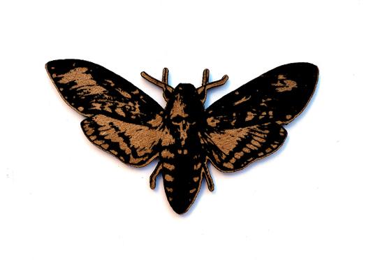 Death Head Moth Chip n Stamp-0