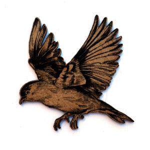 Bird in Flight Chip n Stamp-0