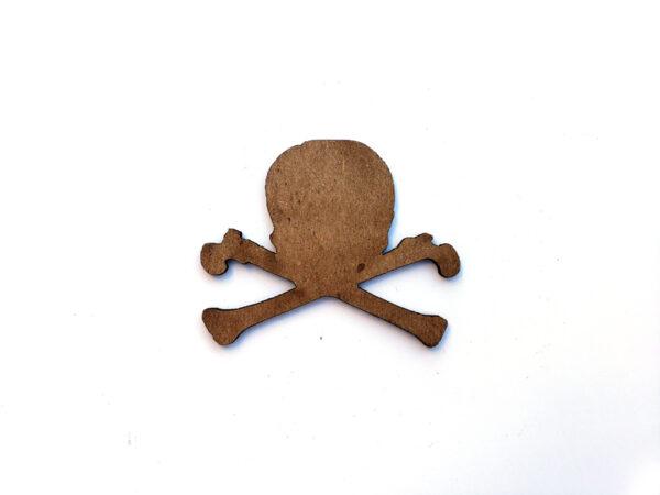 Skull & Crossbones Chip n Stamp-11075