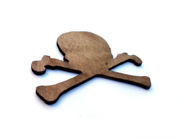 Skull & Crossbones Chip n Stamp-11076