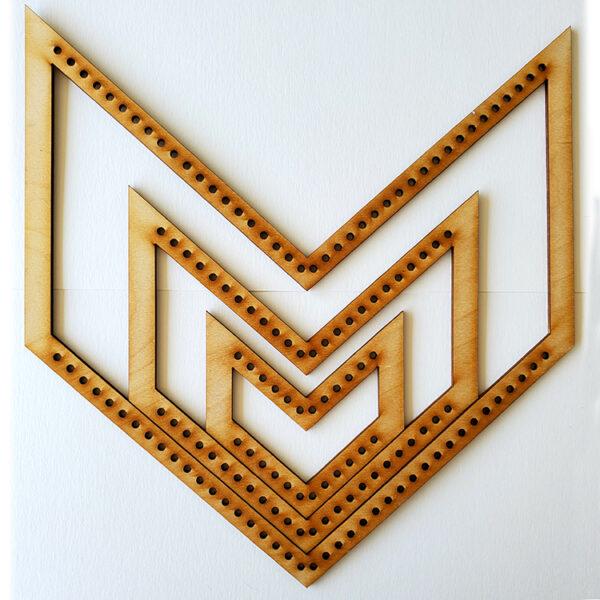 Chevron Frame Loom - Medium-0