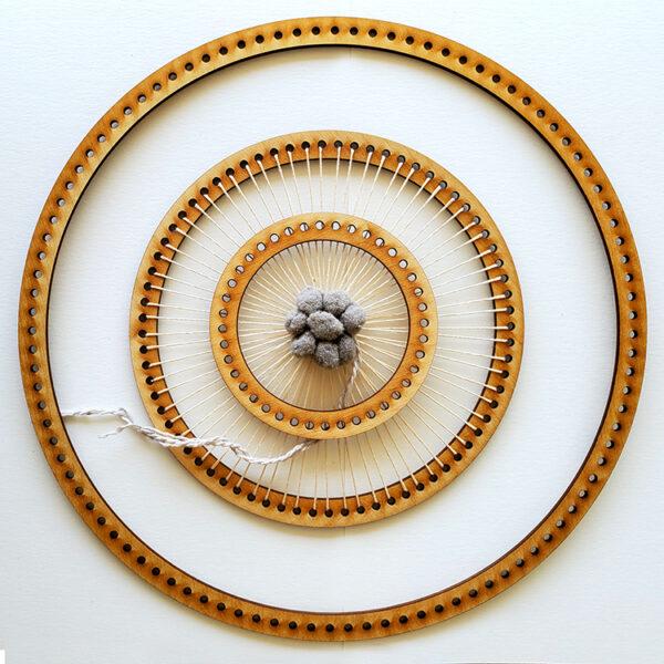 Circle Frame Loom - Full Set-0