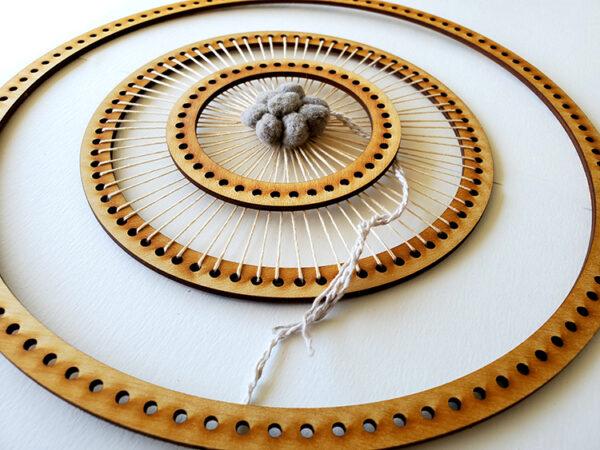 Circle Frame Loom - Full Set-16924