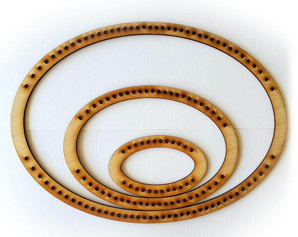 Landscape Oval Frame Loom - Small-0