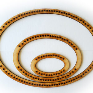 Landscape Oval Frame Loom - Medium-0