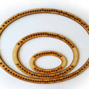 Landscape Oval Frame Loom - Full Set-0