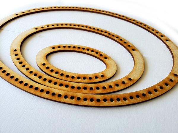 Landscape Oval Frame Loom - Full Set-16964