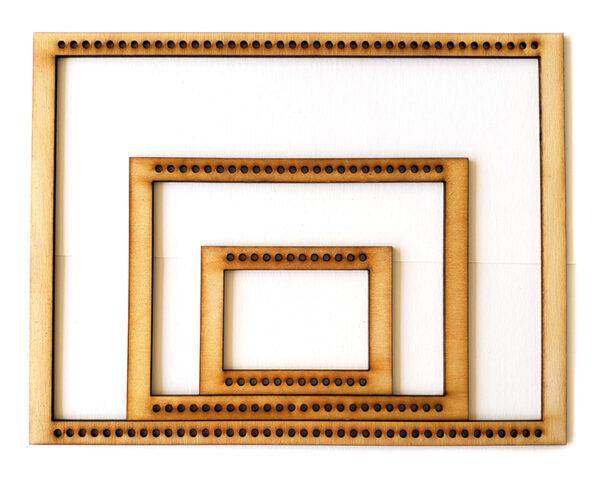 Landscape Rectangle Frame Loom - Full Set-0